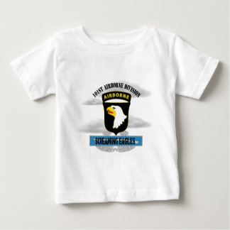 """101st Airborne Division """"Screaming Eagles"""" Baby T-Shirt"""