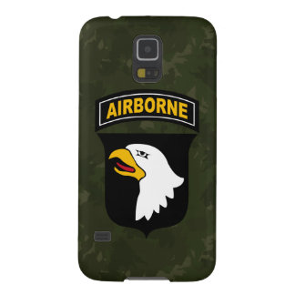 """101st Airborne Division """"Screaming Eagles"""" Camo Case For Galaxy S5"""