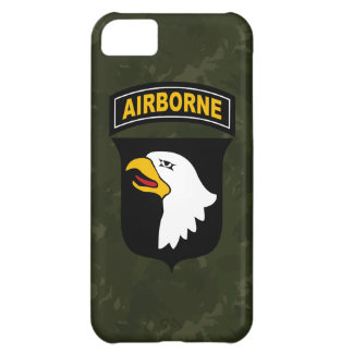 "101st Airborne Division ""Screaming Eagles"" Camo Cover For iPhone 5C"