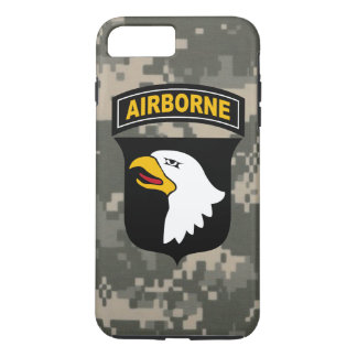 "101st Airborne Division ""Screaming Eagles"" Camo iPhone 7 Plus Case"