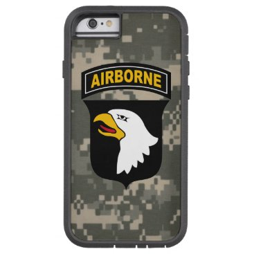 """TributeCollection 101st Airborne Division """"Screaming Eagles"""" Camo Tough Xtreme iPhone 6 Case"""