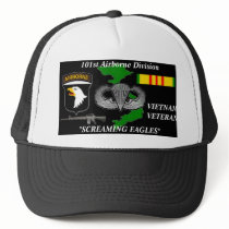 "101st AirBorne Division ""Screaming Eagles""Caps Trucker Hat"