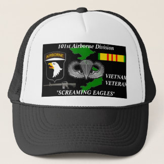 "101st AirBorne Division ""Screaming Eagles""Caps Trucker Hat"