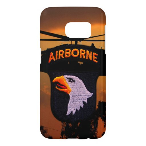 101st Airborne Division Screaming Eagles Samsung Galaxy S7 Case