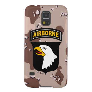 """101st Airborne Division """"Screaming Eagles"""" Desert Galaxy S5 Case"""