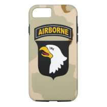 """101st Airborne Division """"Screaming Eagles"""" iPhone 8/7 Case"""