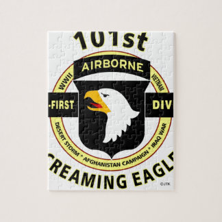 "101ST AIRBORNE DIVISION ""SCREAMING EAGLES"" JIGSAW PUZZLE"