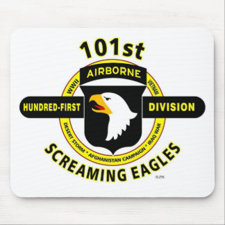 "101ST AIRBORNE DIVISION ""SCREAMING EAGLES"" MOUSE PAD"