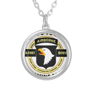 """101ST AIRBORNE DIVISION """"SCREAMING EAGLES"""" NECKLACE"""