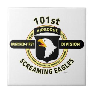 "101ST AIRBORNE DIVISION ""SCREAMING EAGLES"" TILE"
