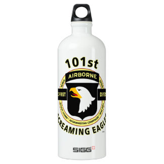 "101ST AIRBORNE DIVISION ""SCREAMING EAGLES"" WATER BOTTLE"
