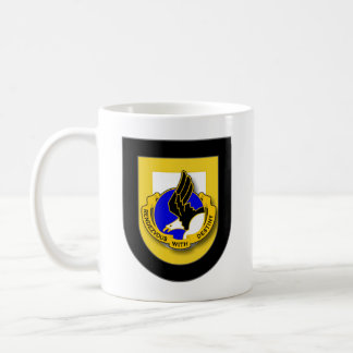 101st Airborne Division SSI and flash mug