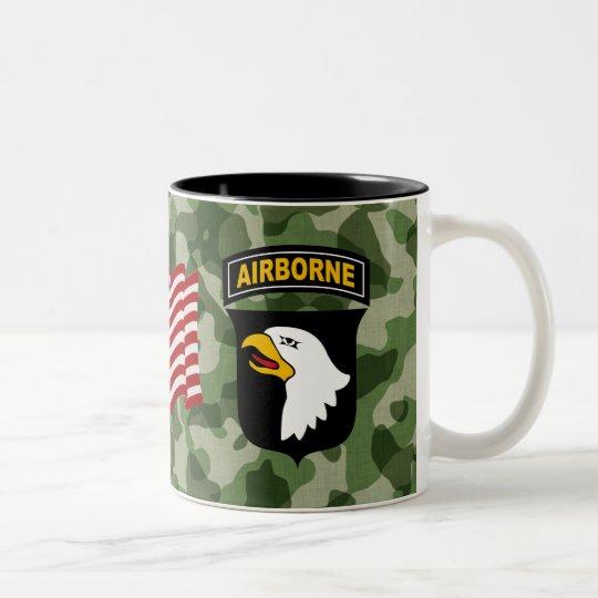 101st Airborne Division Two-Tone Coffee Mug