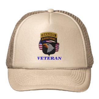 101st airborne division veterans vets vietnam iraq trucker hat