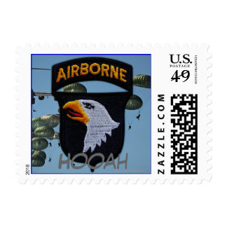 101st airborne division vets patch postage stamps