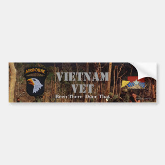 101st airborne division vietnam bumper stickers