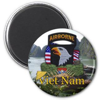 101st airborne division vietnam vc rvn vets Magnet