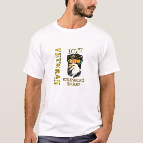 101st Airborne Division Vietnam Veteran T_Shirt