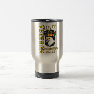 101st Airborne Division Vietnam Veteran Travel Mug