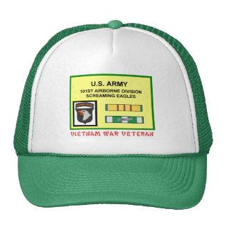101ST AIRBORNE DIVISION VIETNAM WAR VET TRUCKER HATS
