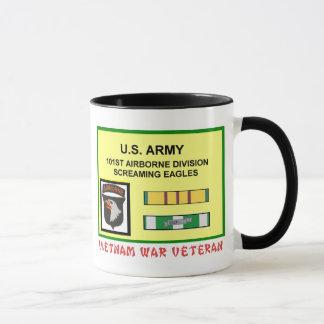 101ST AIRBORNE DIVISION VIETNAM WAR VET MUG