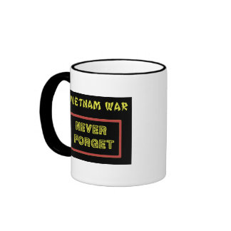 101ST AIRBORNE DIVISION VIETNAM WAR VET RINGER MUG