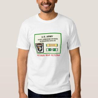 101ST AIRBORNE DIVISION VIETNAM WAR VET T SHIRT