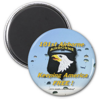 101st airborne fridge magnet patch army son wife
