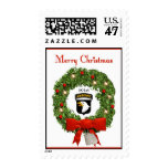 101st Airborne Military Christmas Postage Stamps