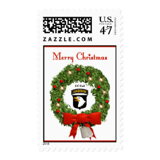101st Airborne Military Christmas Postage Stamps at Zazzle