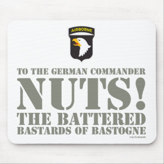 101st AIRBORNE - NUTS! Mouse Pad