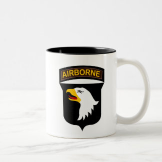 101st Airborne Patch with Jump Wings Mugs