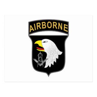 101st Airborne Postcard