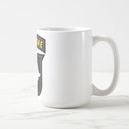 101st Airborne Screaming Eagle Emblem Coffee Mug