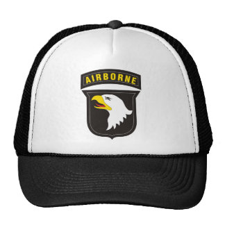 101st Airborne Screaming Eagle Emblem Trucker Hat