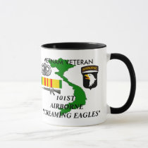 101st Airborne Screaming Eagles Coffee Mugs
