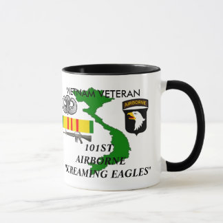 101st Airborne Screaming Eagles Coffee Mugs