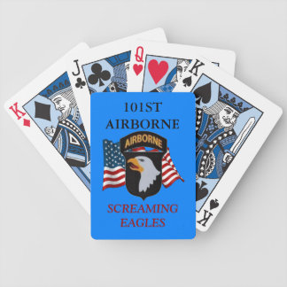 101ST AIRBORNE SCREAMING EAGLES PLAYING CARDS