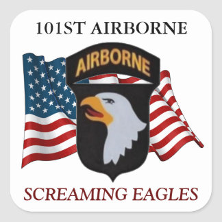 101ST AIRBORNE SCREAMING EAGLES STICKERS