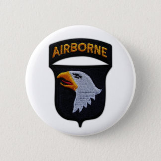 101st airborne screaming eagles veterans vets button