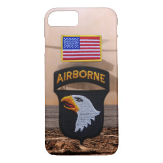 101st airborne screaming eagles veterans vets iPhone 7 case