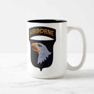 101st airborne screaming eagles veterans vets coffee mug