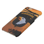 101st airborne screaming eagles vets veterans matte iPhone 6 plus case