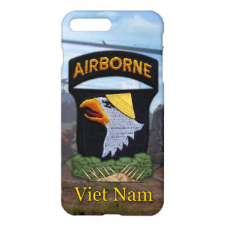 101st airborne screaming eagles vietnam veterans iPhone 7 plus case