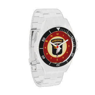 101st Airborne Screaming Eagles Wristwatches
