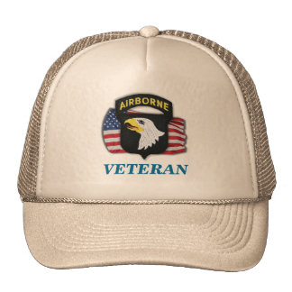 101st airborne veteran units iraq patch hat
