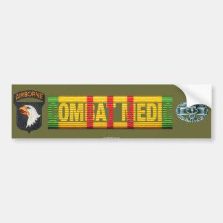 101st Airborne Vietnam COMBAT MEDIC Sticker Car Bumper Sticker