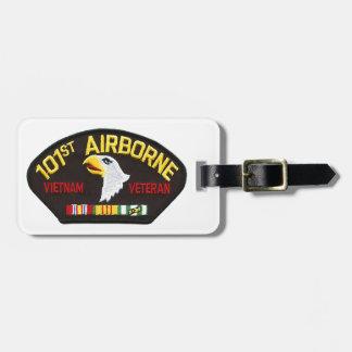 101st Airborne Vietnam Veteran Luggage Tag