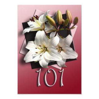 101st Birthday Party Invitation