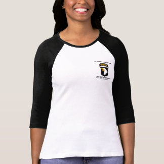 101ST Camiseta del ` s de la mujer del logotipo de Remera